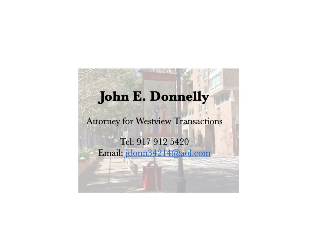John E. Donnelly Business Card